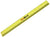 Neon Yellow Cedar Carpenter Pencil with Ruler Imprint - 3 Pack