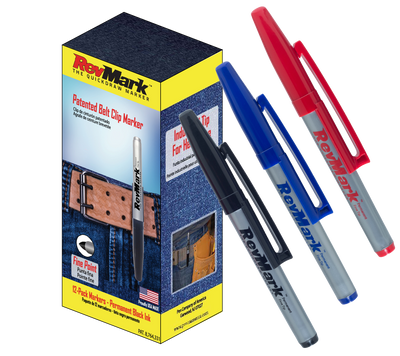 RevMark marker - 12-Pack - Assorted Pack