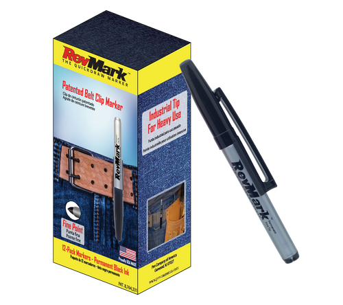 RevMark 12-Pack - Black Ink