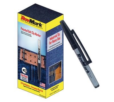 RevMark Marker - 12-Pack - Black Ink