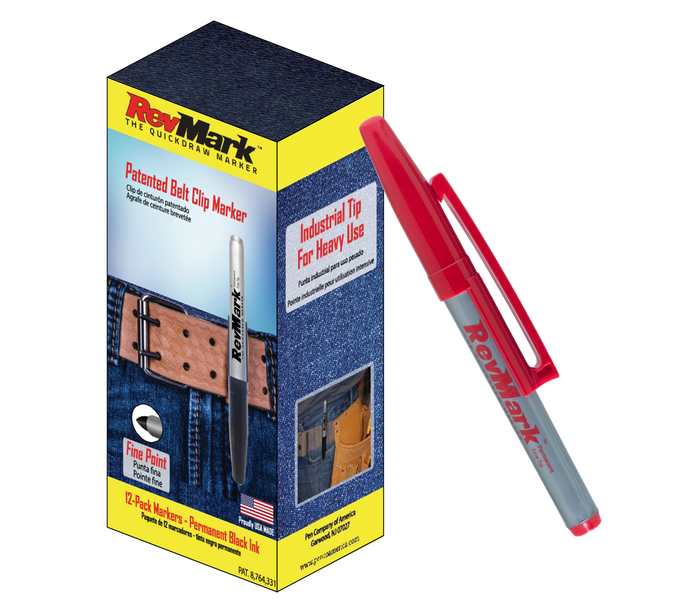 RevMark 12-Pack - Red Ink