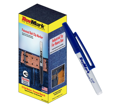 RevMark Marker - 12-Pack - Blue Ink