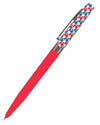 Patriotic Twist Pen - Red