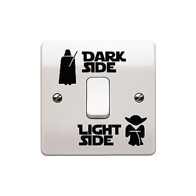Home Decor - Dark Side Light Side Switch Sticker