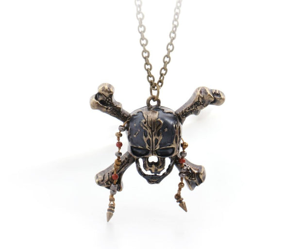 Dead Pirate Skull Capitan Pendant