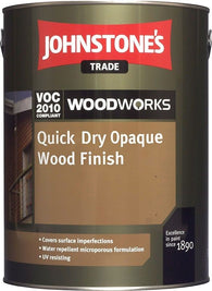 2.5LTR Johnstone's Woodworks Quick Dry Opaque Wood Finish