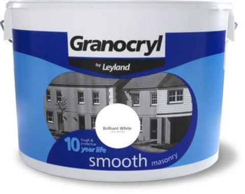 2.5 LTR Granocryl by Leyland Smooth Masonry Paint