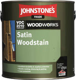 0.75LTR Johnstone's Woodworks Satin Woodstain