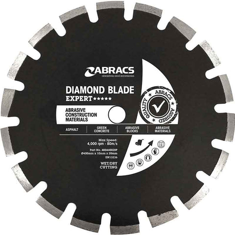 Expert XL Abrasive Construction Materials Floor Saw Blade