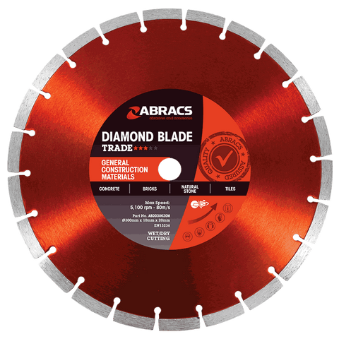 Trade General Construction Materials Diamond Blades