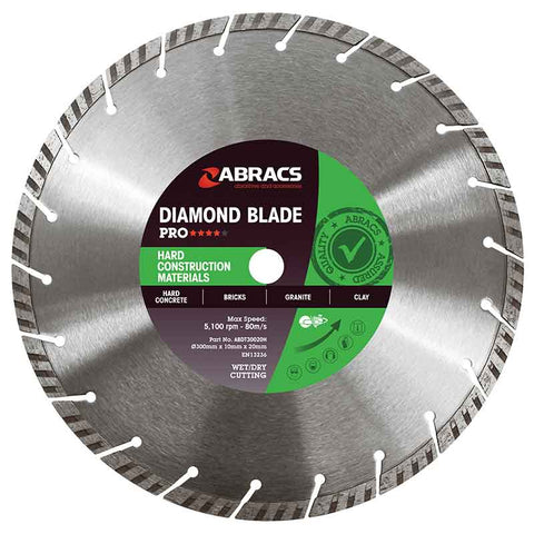 Pro Hard Construction Materials Diamond Blades