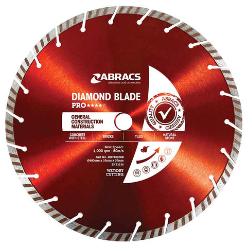 Pro XL General Construction Material Floor Saw Blades