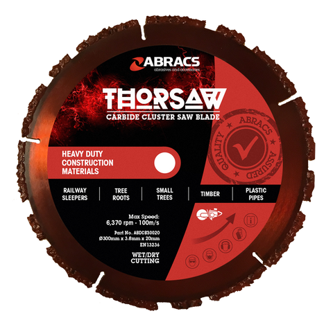 Expert Thorsaw Carbide Cluster Saw Blade