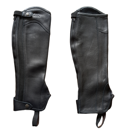 HORSE TECH SOFT LEATHER GAITERS