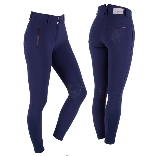 QHP MERLIJN ANTI-SLIP KNEE PATCH BREECH