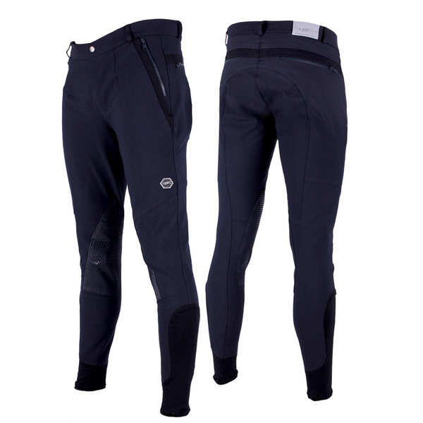 QHP NILS MENS BREECH WITH ANTI-SLIP KNEE PATCH