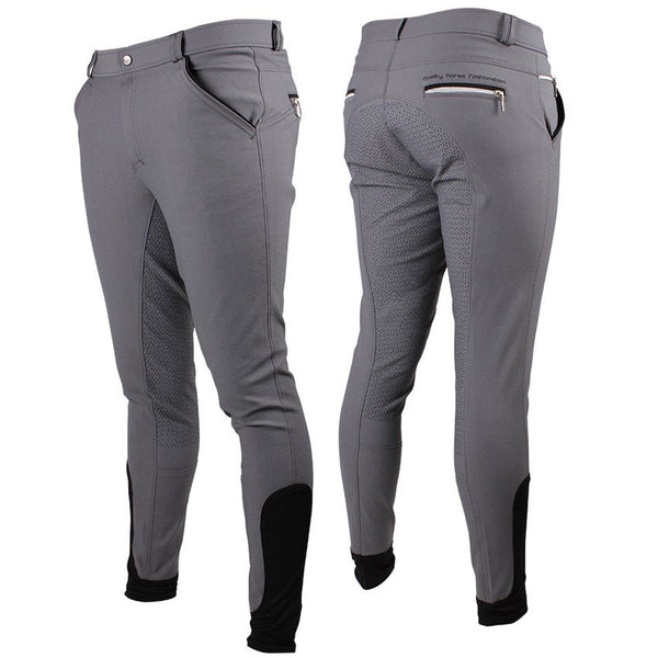 QHP JASON MENS ANTI-SLIP FULL SEAT BREECHES
