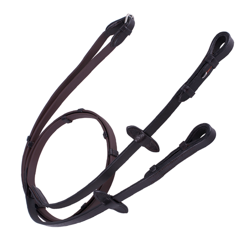 QHP BIOTHANE CLEATED REINS
