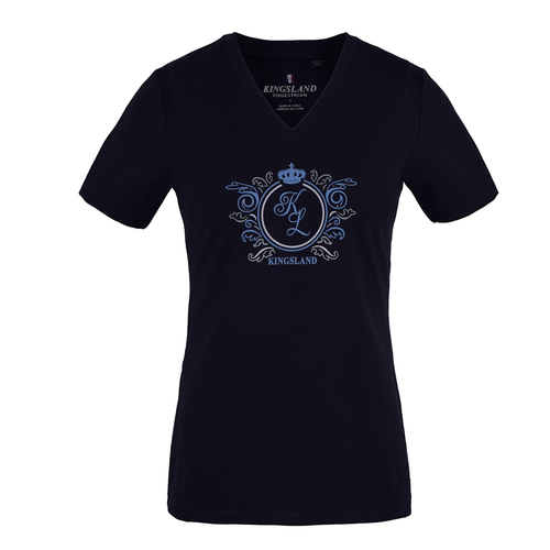 KINGSLAND MOUGINS LADIES V-NECK TEE