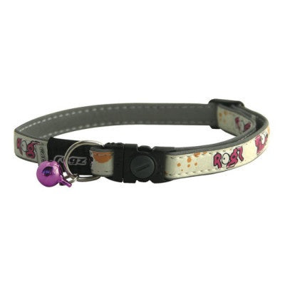 ROGZ KITTY GLOWCAT CAT COLLAR
