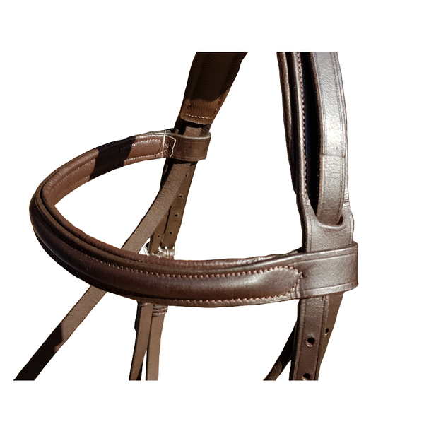 SADDLE UP PADDED BRIDLE WITH REMOVABLE FLASH