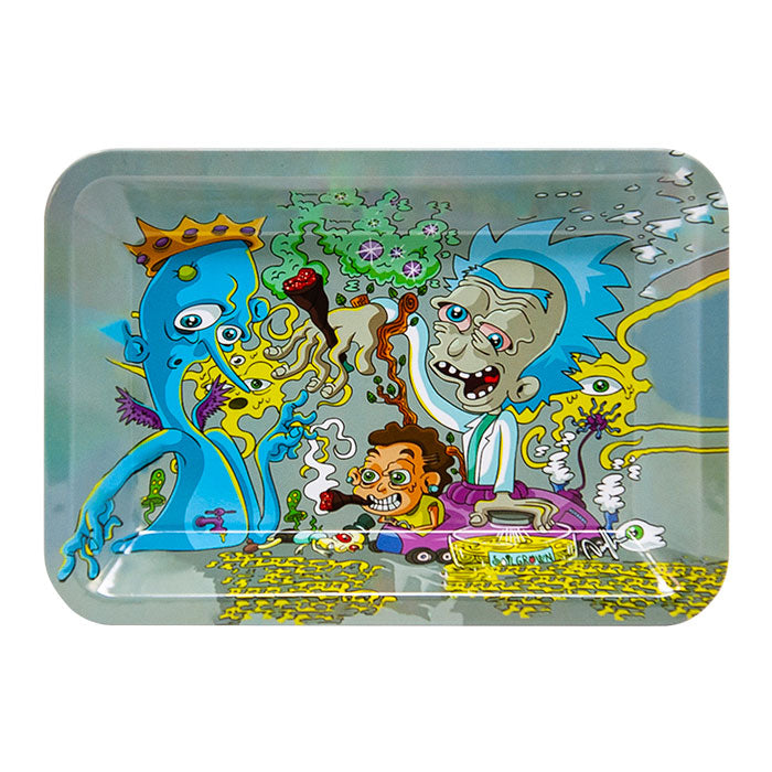 Rick and Morty High Small Rolling Tray