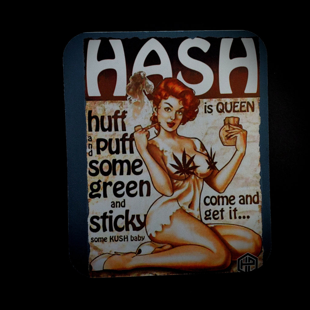 Just Pads - Hash is Queen Dab Mat