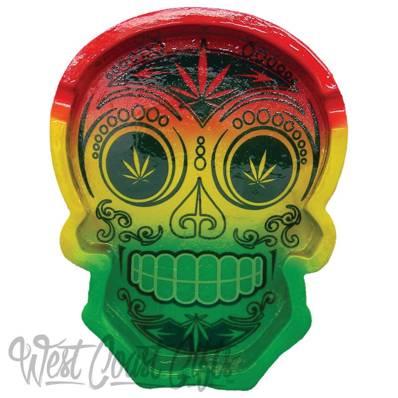 Rasta Day of the Dead Ashtray - Honeypot International inc.