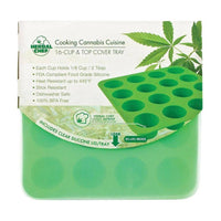 Herbal Chef Silicone Tray with Lid - Green Eggs
