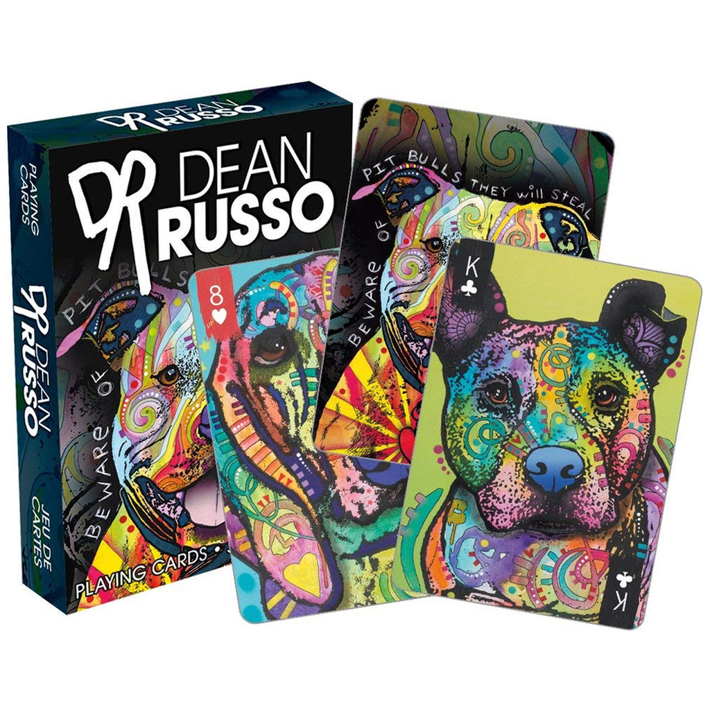 Playing Cards - Dean Russo Dogs - Honeypot International inc.