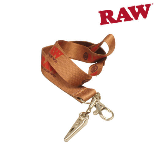 Raw Smokers Lanyard V.2 with Roach Clip