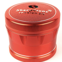 "SharpStone 4-Piece V2 Grinder Pollinator Colored 2.2"" - Honeypot International inc."