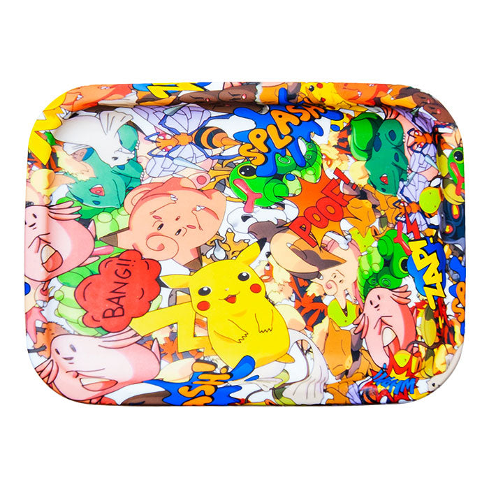 Silicone Graphics Rolling Tray - Pokemon