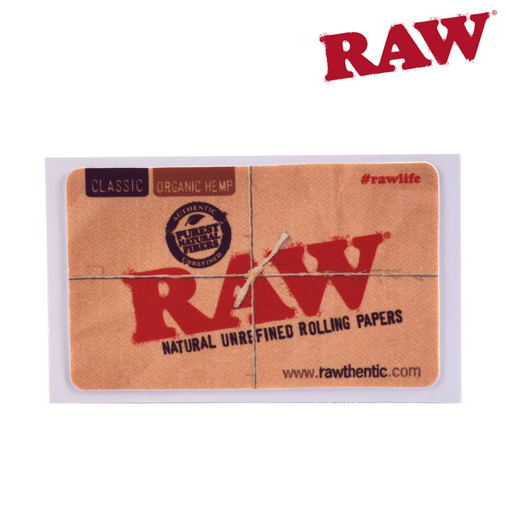 Raw removable sticker 9cm X 5cm - Honeypot International inc.