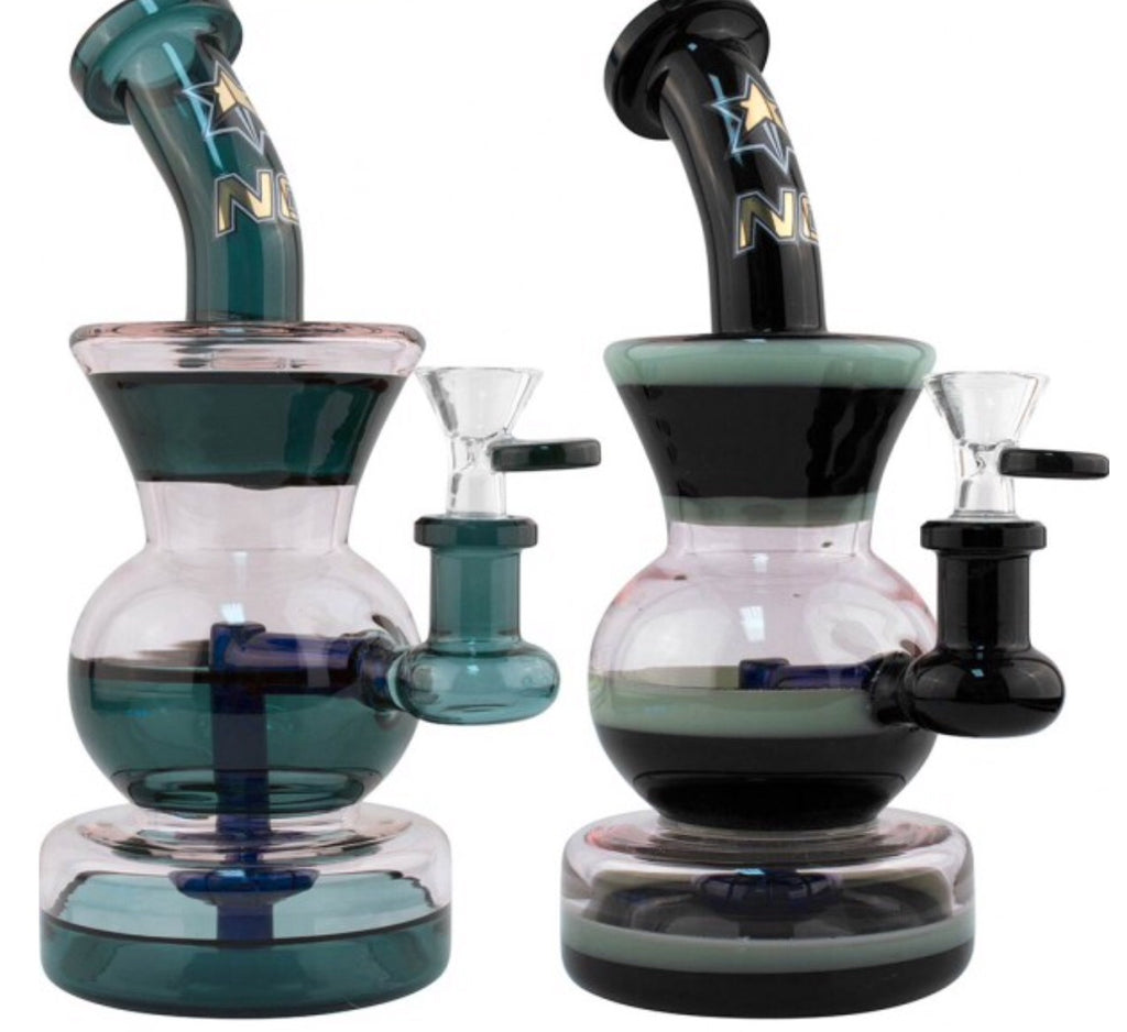 "NG 9"" Tri-Level Bubbler - Honeypot International inc."