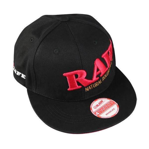 Raw snap back black hat - Honeypot International inc.