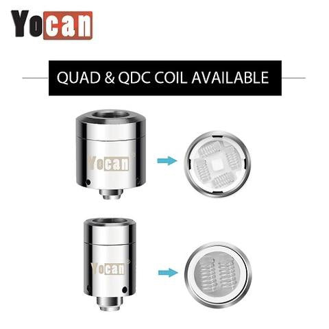 Yocan Loaded coil replacements - Honeypot International inc.