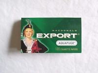Macdonald Export Aquafuge rolling papers - Honeypot International inc.