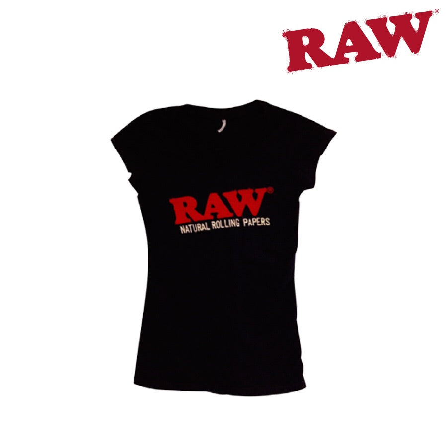 Raw ladies v neck short sleeve shirt - Honeypot International inc.