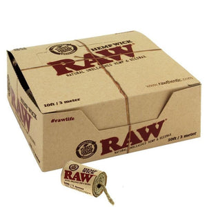 Raw Hemp Wick 10ft Pull Roll - Honeypot International inc.