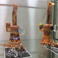 "Pied Piper Glass Full Colour 8.5"" Banger Hanger"