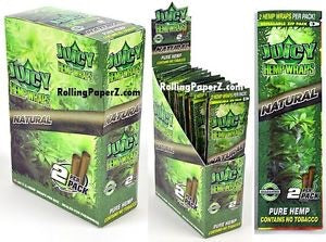 Juicy Flavoured Hemp Wraps - Honeypot International inc.