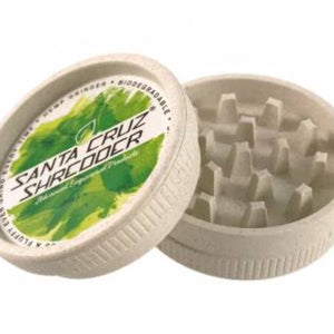 Santa Cruz Shredder 2-Piece Hemp Grinder - Honeypot International inc.