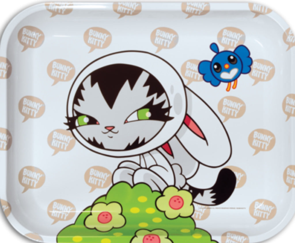 Peruse Bunny Kitty Rolling Tray - Honeypot International inc.
