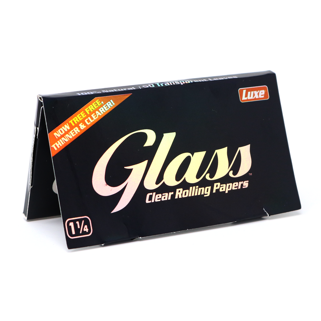 Glass Clear Rolling Papers - Honeypot International inc.