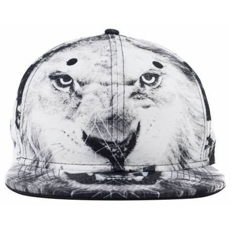 No Bad Ideas - Cecil - Snapback Lion Print - Honeypot International inc.