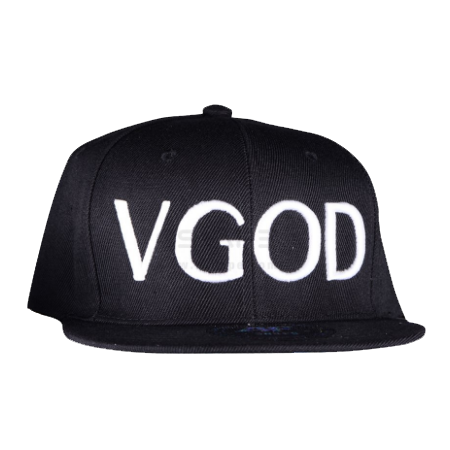VGOD Straight brim snap back hat