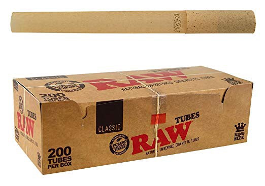 Raw Natural Unrefined Cigarette Tubes - Honeypot International inc.