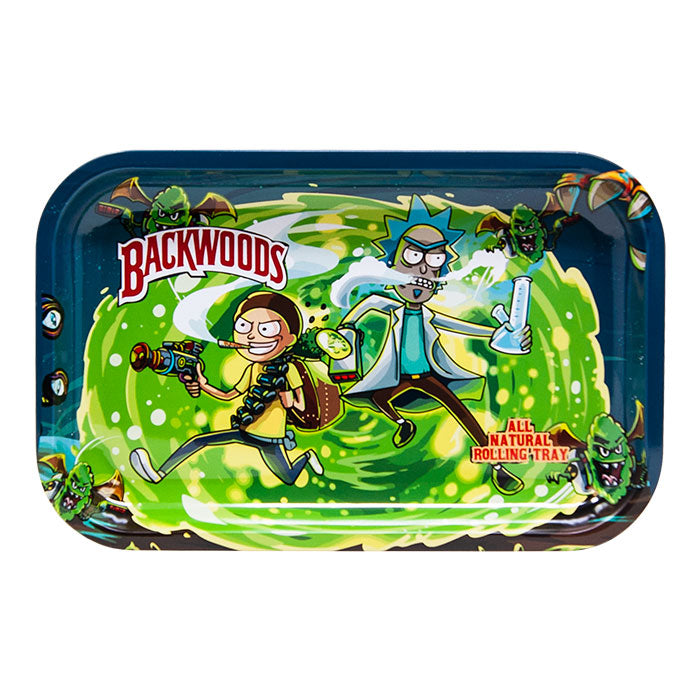 Rick and Morty Medium Rolling Tray