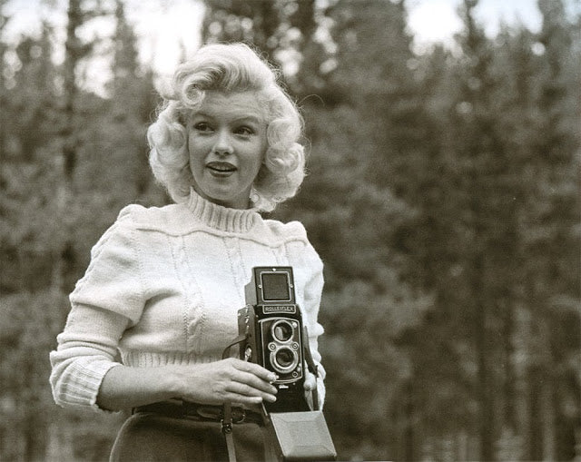 Celebrities and Their Rolleiflexes